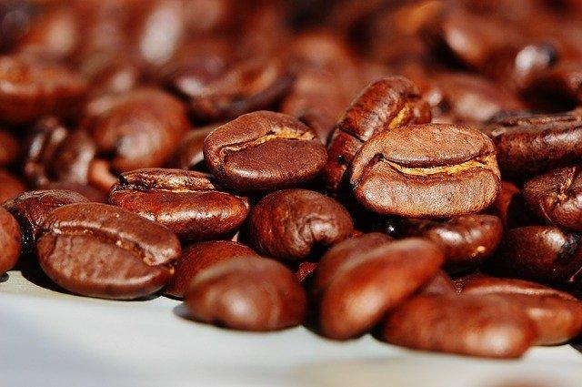 Kávová zrna - ranní vstávání