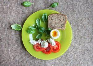 Fitness snídaně vejce