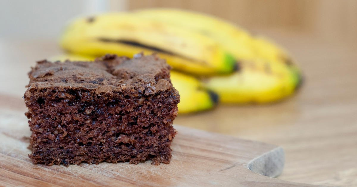 Chia mandlové brownies