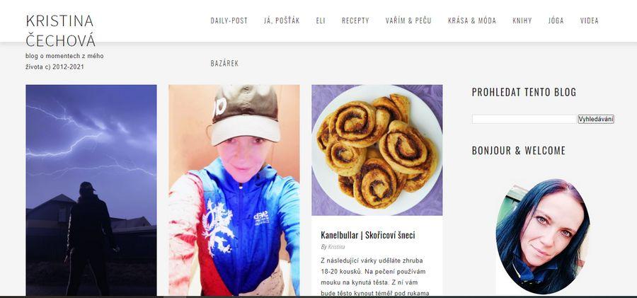 Kristina Čechová - nejlepší fitness blog