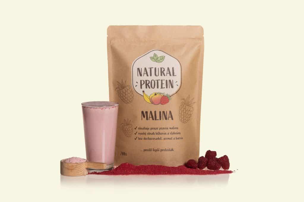 proteinove-napoje-naturalprotein-malina