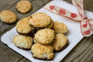 Zdravé cukroví - Proteinovo - čokoládové kokosky