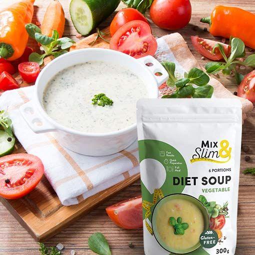 Dietní polévka zeleninová 300g
