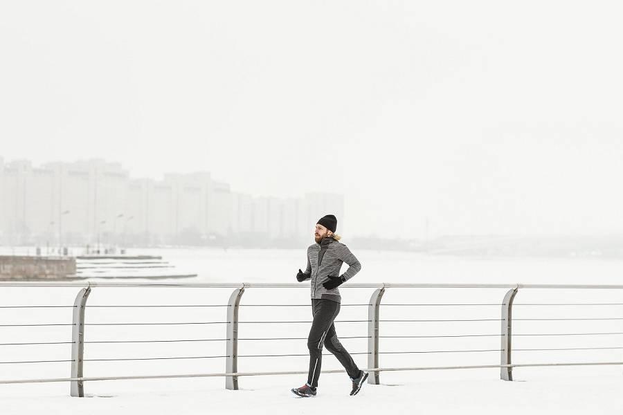 Oblečení na běhání v zimě